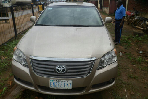 neatly used 2008 toyota avalon bought brand new in 2009 for sale autos nigeria. Black Bedroom Furniture Sets. Home Design Ideas