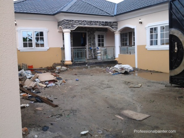 Cost Of Painting 4flats Of 3brd Properties Nigeria