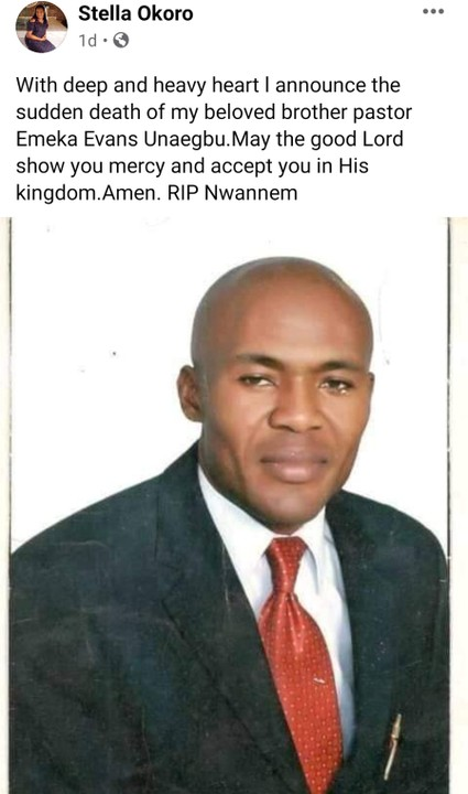 Pastor Emeka Evans Murdered In His Church In Abuja - Crime - Nigeria