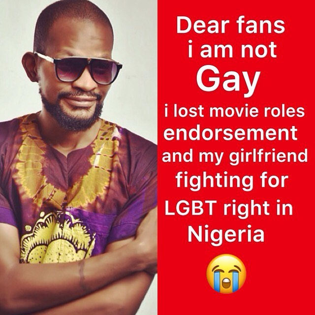 'I Am Not Gay' - Uche Maduagwu Says After 'Losing Girlfriend and Endorsement