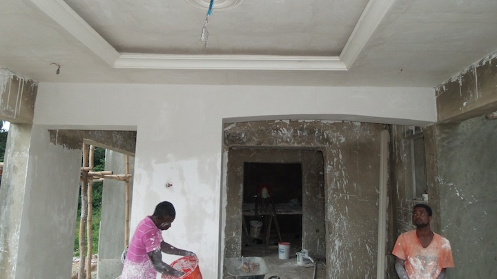 The Chateau In Ile Oluji Our Construction Journal