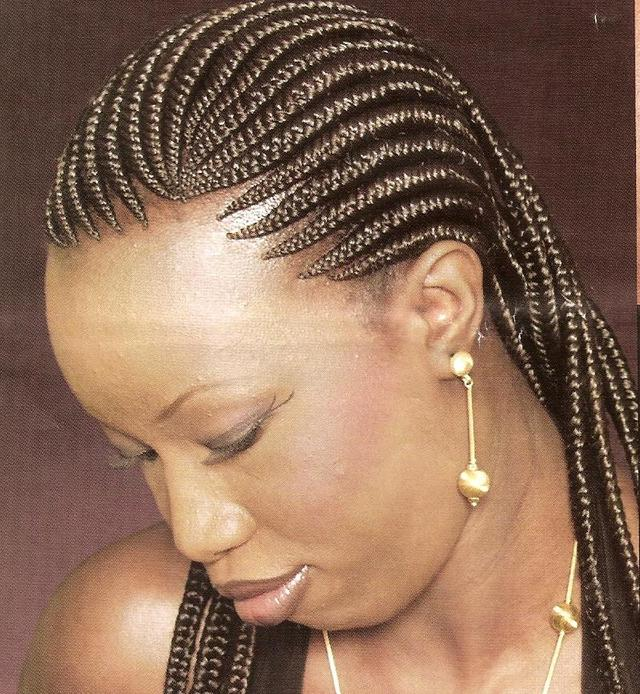 The Hair Gallery For Shortnaturalweave Or Braids Fashion 3