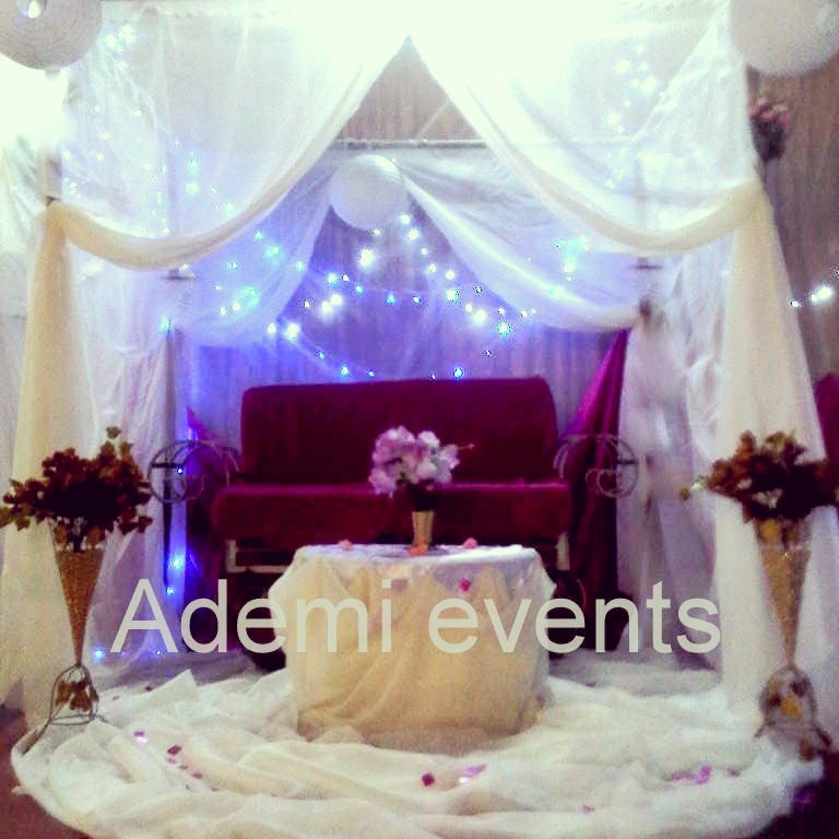 Ademi Wedding Decoration For 70k Ember Promo Events Nigeria