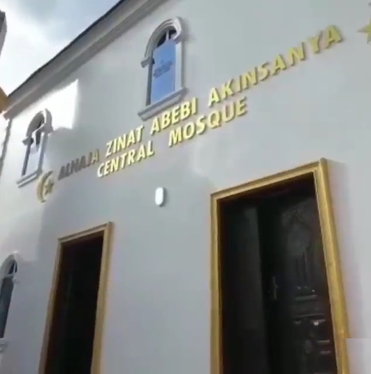 MC Oluomo Builds A Mosque In Memory Of His Late Mother