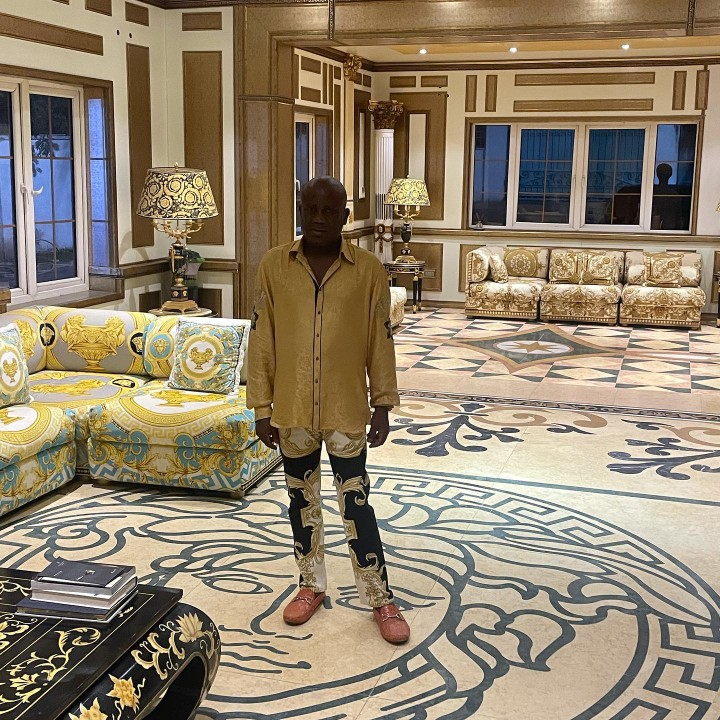 Photos As Terry Waya Celebrates His Birthday In His Mansion