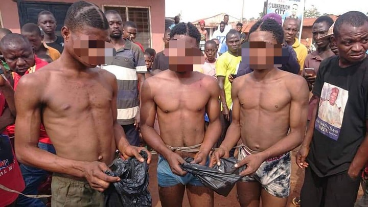 Three Gay Men Arrested For Having Sex In Benue |Photo