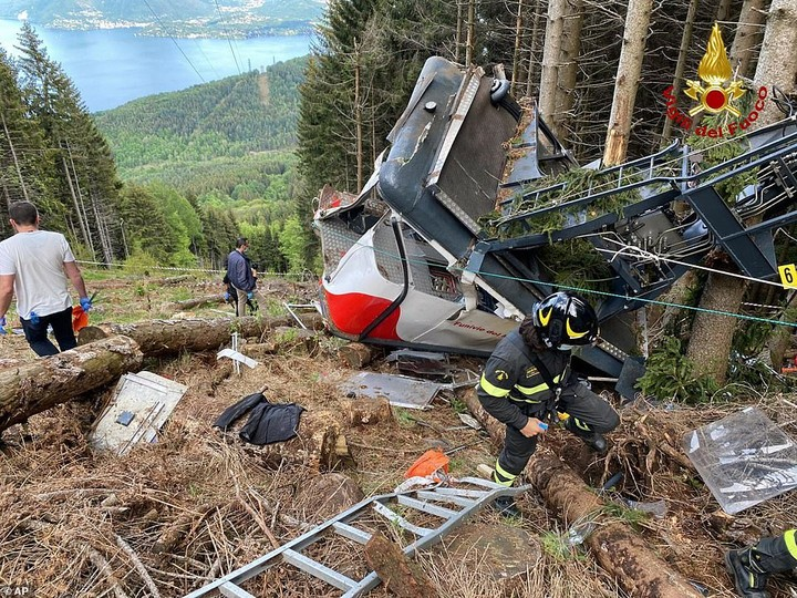 Cable Car Killed 14 In Italy