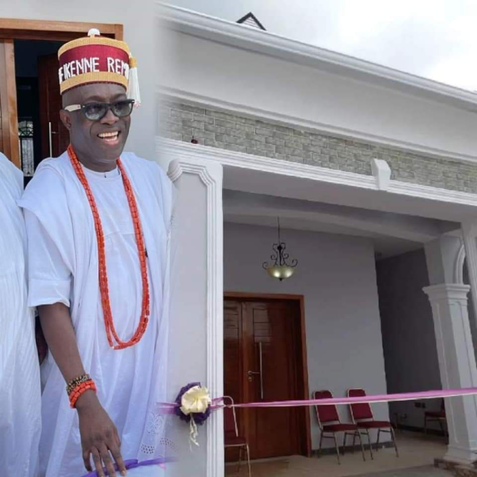 Pictures As Adewale Ayuba Builds A Mansion In Ikene Remo