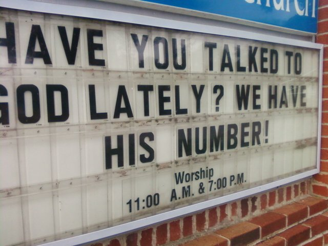 Related Pictures funny church sign can go a long way check out this ...