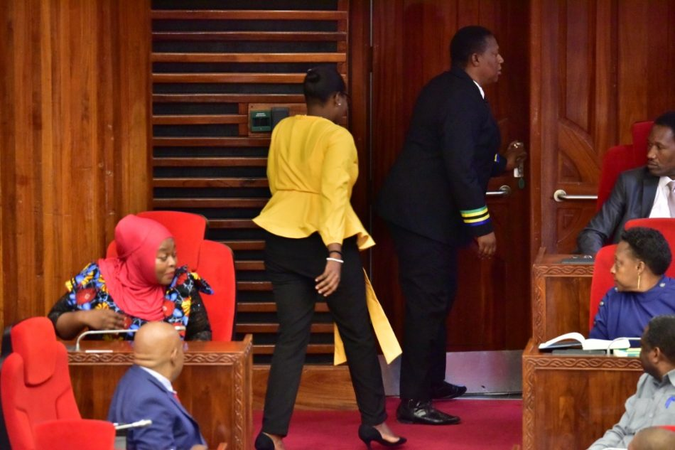 Tanzanian Female MP Thrown Out Of Parliament For Wearing 'Tight' Trousers