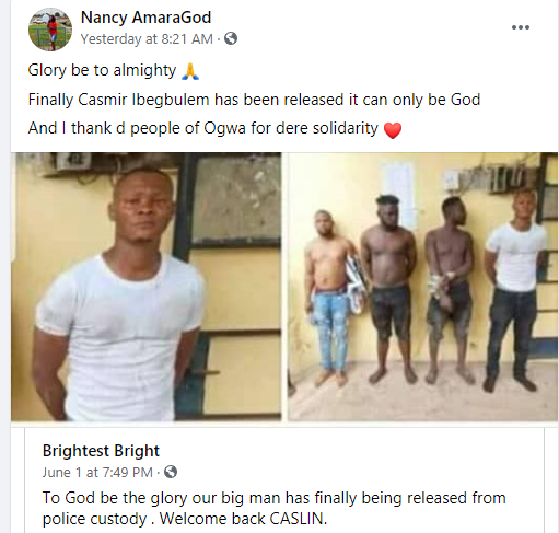 Police Release Oil Worker Wrongly Arrested And Paraded As An Unknown Gunman (Photos)