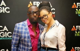 At Last, Jim Iyke Proposes To Nadia Buari After TB Joshua's