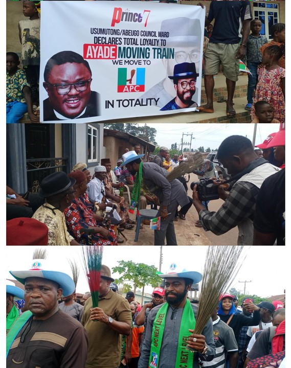 Goodluck Jonathan's Son-In-Law Decamps To APC