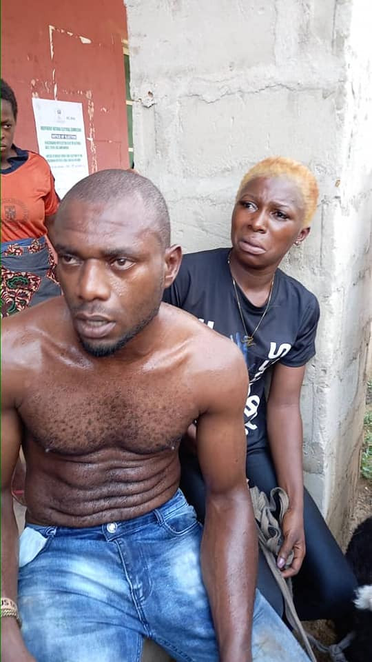 Two Lovers Steal Sheep In Anambra Community