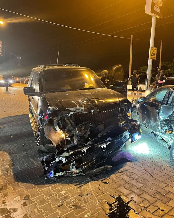 Yomi Casual Survives Car Accident