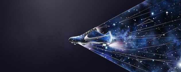 Cristiano ronaldo s bizarre new celestial boots for Outer space stage design