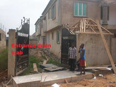 Buildng a block of 4 flat as a framed structure pix cost for Window hood design in nigeria