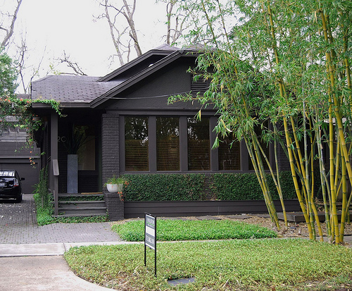 is anything wrong in painting a house black properties