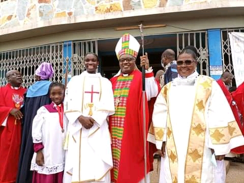 Anglican Diocese Of Cape Coast, Ghana Ordains First Female Priest