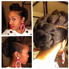 wedding hairstyles gallery for natural hair fashion