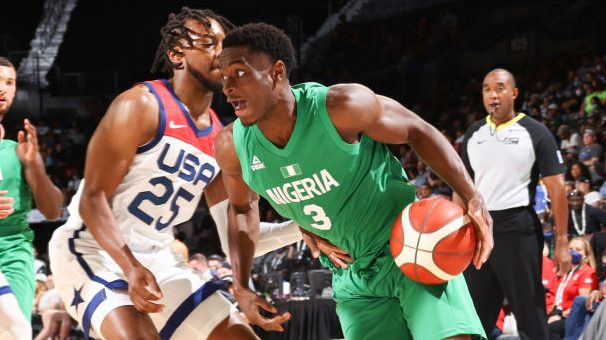 Nigeria Beats The USA 90-87 In Pre-Olympic Basketball Friendly