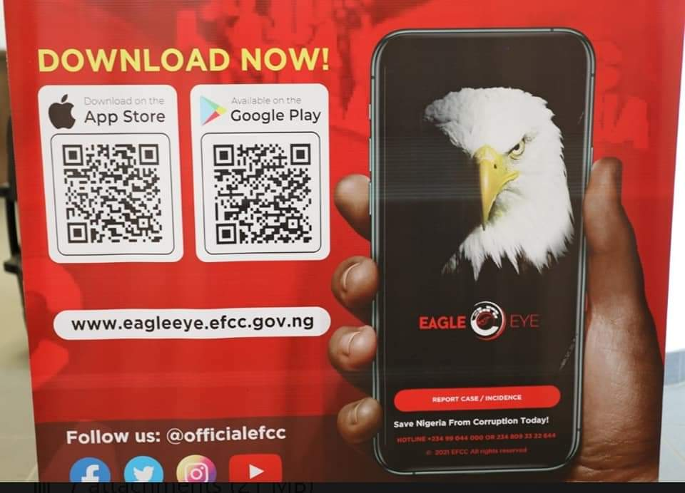 EFCC Launches 'Eagle Eye' App To Aid Financial Crimes Reporting
