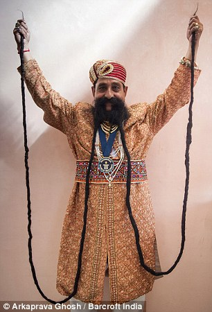 Photos: Meet The Man With The World's Longest Moustache ...