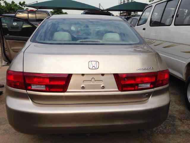 super clean tokunbo 2005 honda accord lx autos nigeria. Black Bedroom Furniture Sets. Home Design Ideas