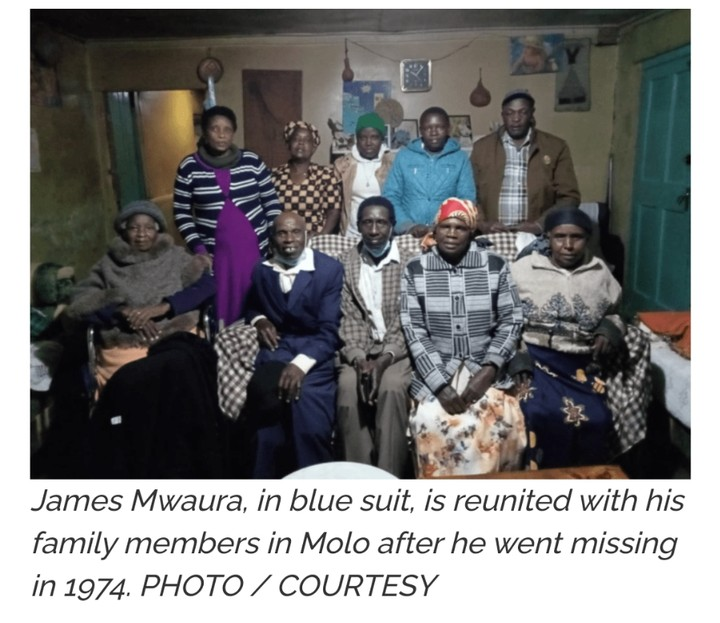 Pictures; Kenyan Man Returns Home 47 Years After He Was Sent To Buy Rice For The Family – Face of Malawi