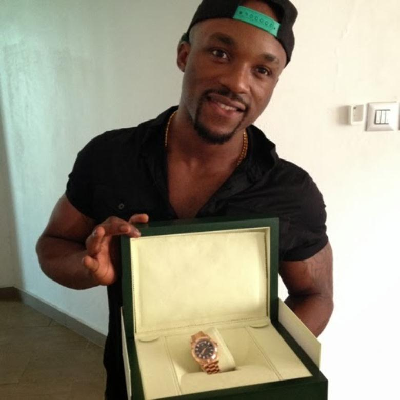 Check Out Iyanya's Birthday Gifts From Hismanager