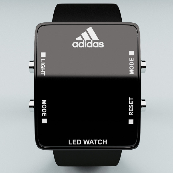 adidas led watches for sale