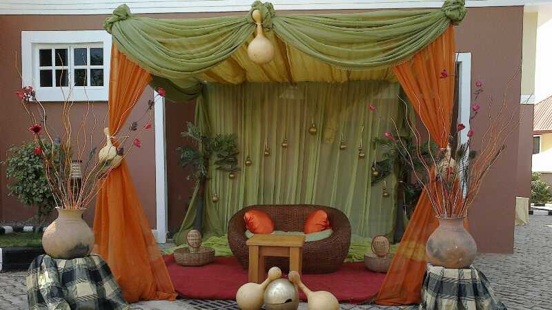 Traditional Wedding Decoration Ideas Timi Awoyinka Deji Ogunnowo Bn Glam May