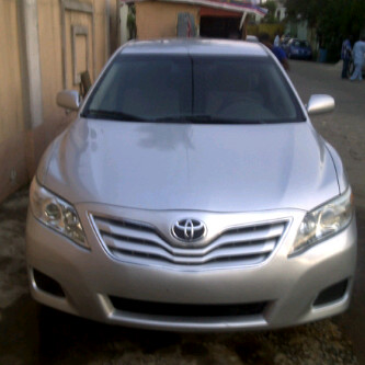 Tokunbo Toyota Camry Spider Year 2010 Auto Drive A C Ed Wheel Cover Fabric Seats Etc Mileage Less Than 100 000 Miles Price 2 7million