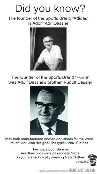 remained in the initial plant and renamed the company Adidas. Source    http   immaturebusiness.com 2378  the-founders-of-adidas-and-puma-were- e95afa33d