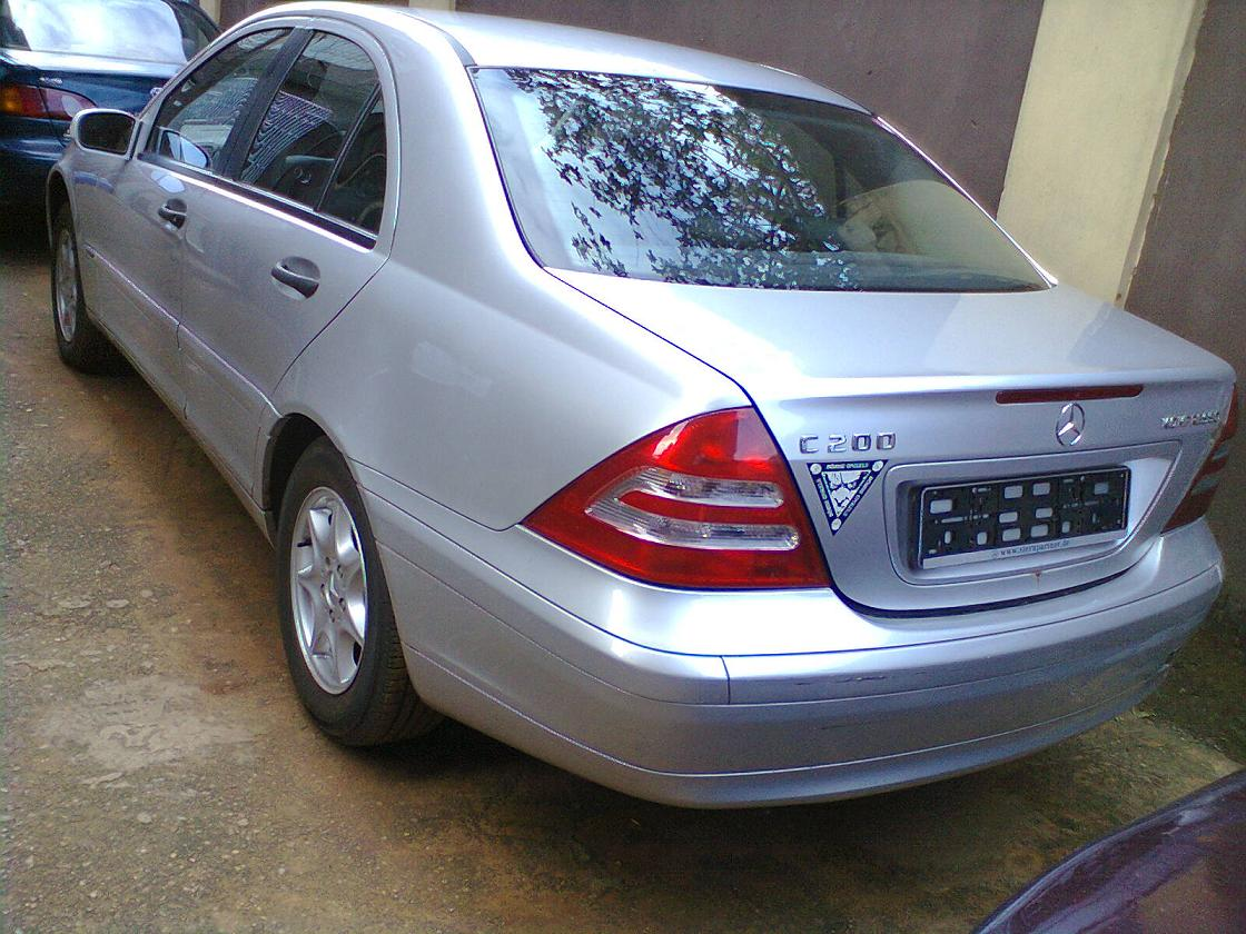 2002 mercedes benz c200 kompressor for sale autos nigeria. Black Bedroom Furniture Sets. Home Design Ideas