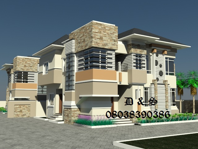 New Dimension To Nigerian Architecture (construction Of 4 Bedroom Twin ...