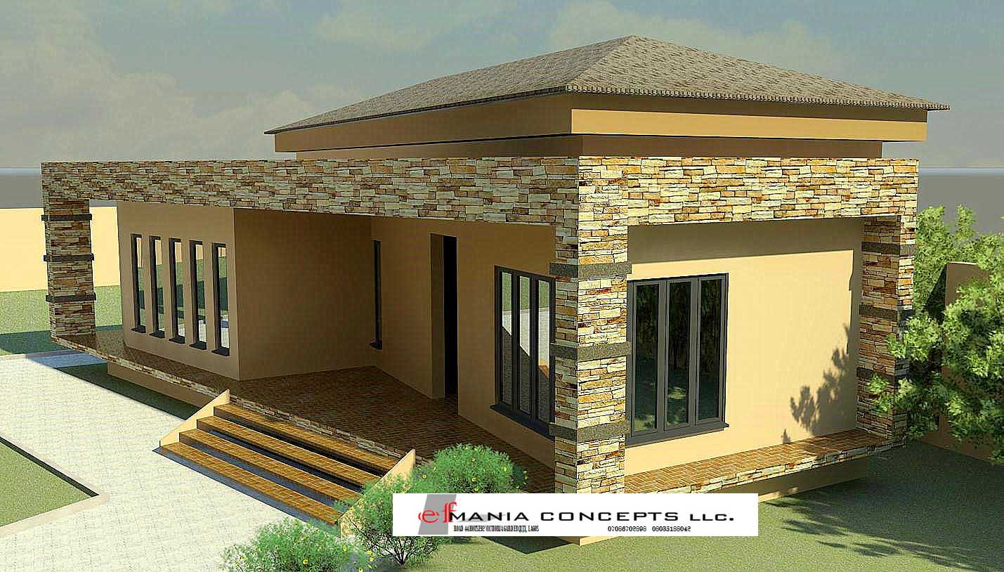 3Bedrooms Bungalow Designs On Wider Plots On Nairaland