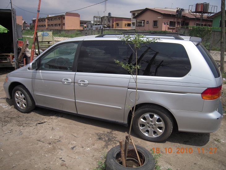 cheap tokunbo 2003 honda odyssey for sale autos nigeria. Black Bedroom Furniture Sets. Home Design Ideas