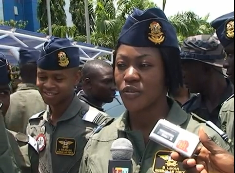 Nigerian Air Force deploys female combatants