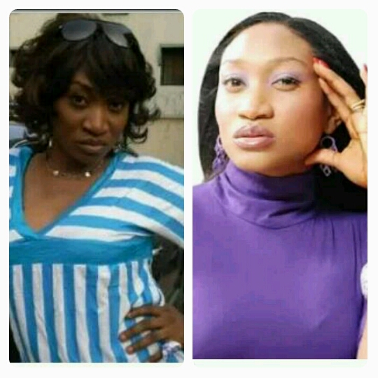 Photos Of Nigeria Actresses Who Bleached Their Skin 2