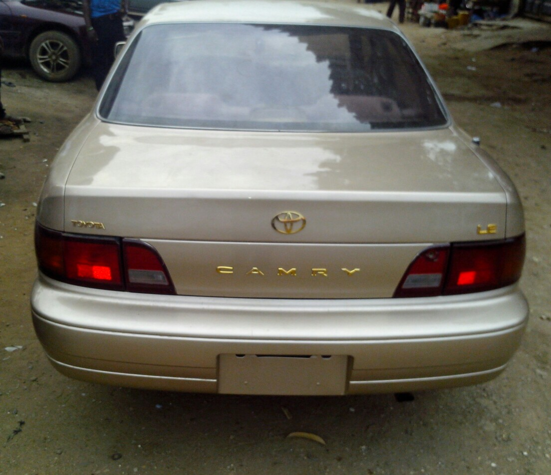 96 Toyota Camry : Registered model toyota camry for sale autos nigeria