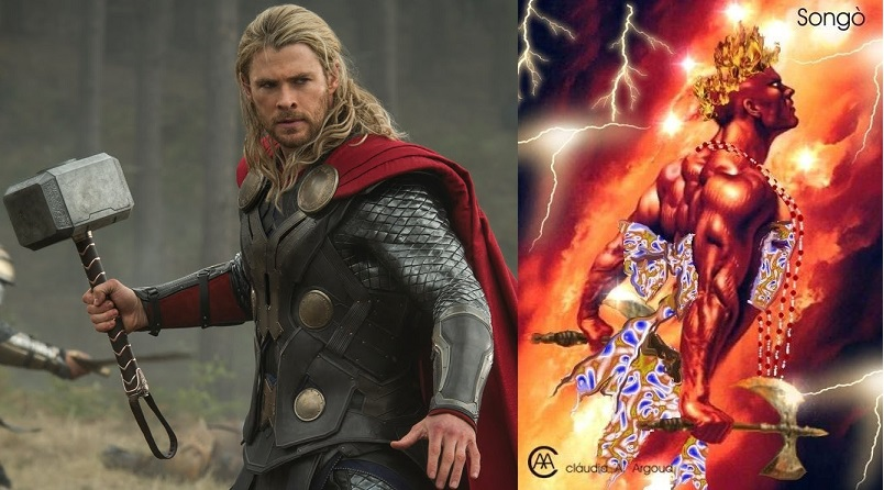 Image result for what is the difference between sango and thor