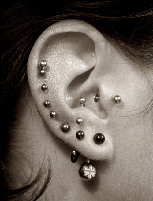 what do you feel about girls piercing more than a hole in the ear - romance