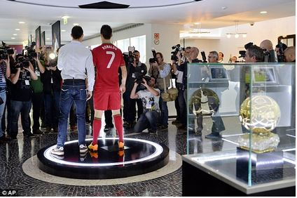 PHOTOS Cristiano Ronaldo Opens His Own Museum To Show Off