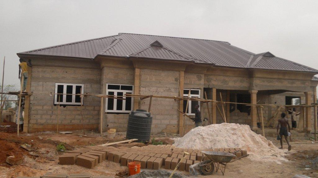 cost of building a four bedroom bungalow from foundation