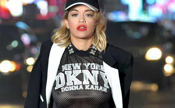 Rita Ora Shows Off Her Breasts In See Through Dress( GRAPHIC ...