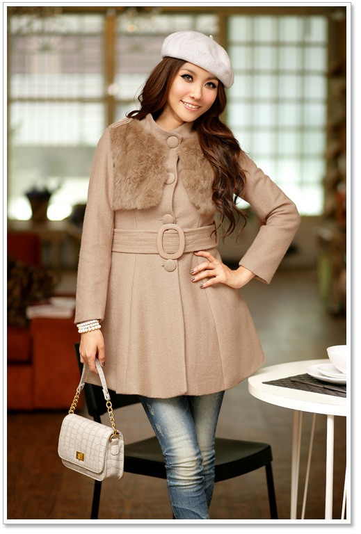 Ultimate Charming Korean Wool Coat Fashion Collocation - Fashion/Clothing Market - Nigeria