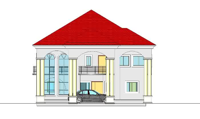 Cost of building a four bedroom bungalow from foundation for Duplex building prices