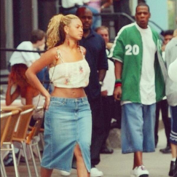 The First Time Jay Z Noticed Beyonce (PICTURE