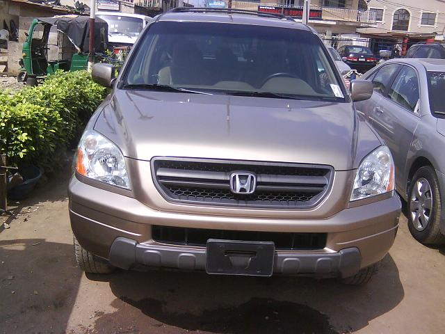 old sold sold 2003 honda pilot ex for instant sale
